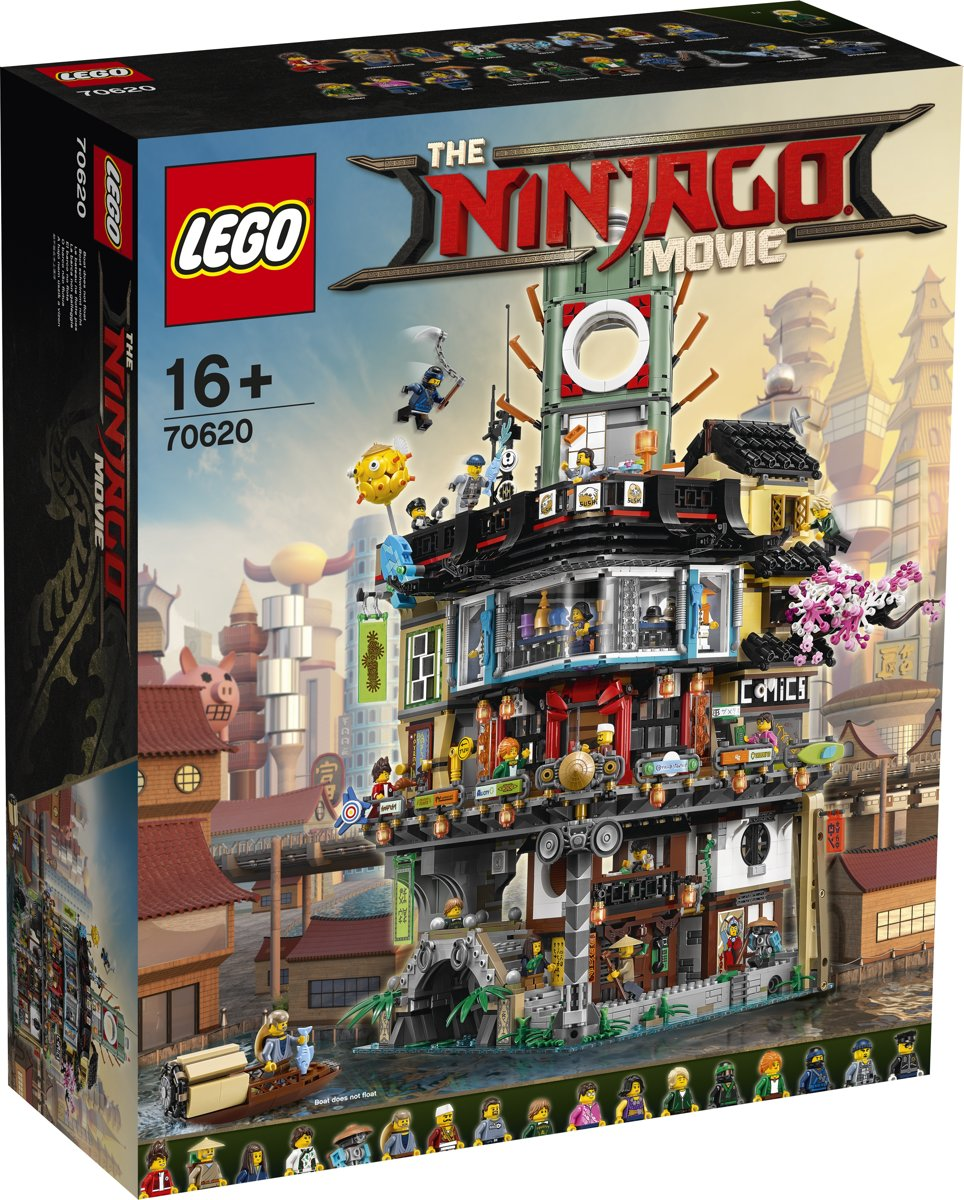 LEGO NINJAGO Movie De Stad - 70620