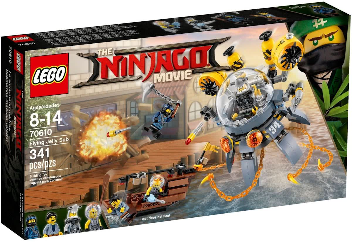 LEGO NINJAGO Movie Vliegende Kwal Duikboot - 70610