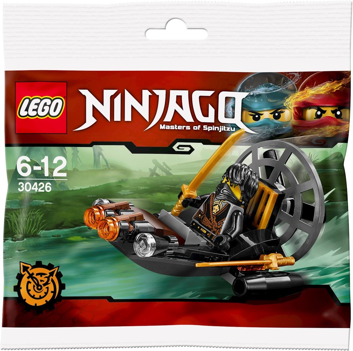 LEGO NINJAGO Stealthy Swamp Airboat - 30426