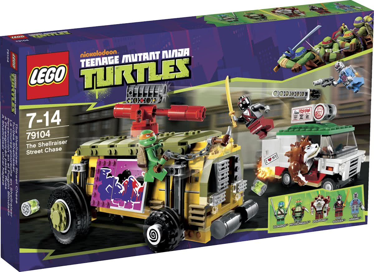 LEGO Ninja Turtles De Shellraiser Straatrace - 79104