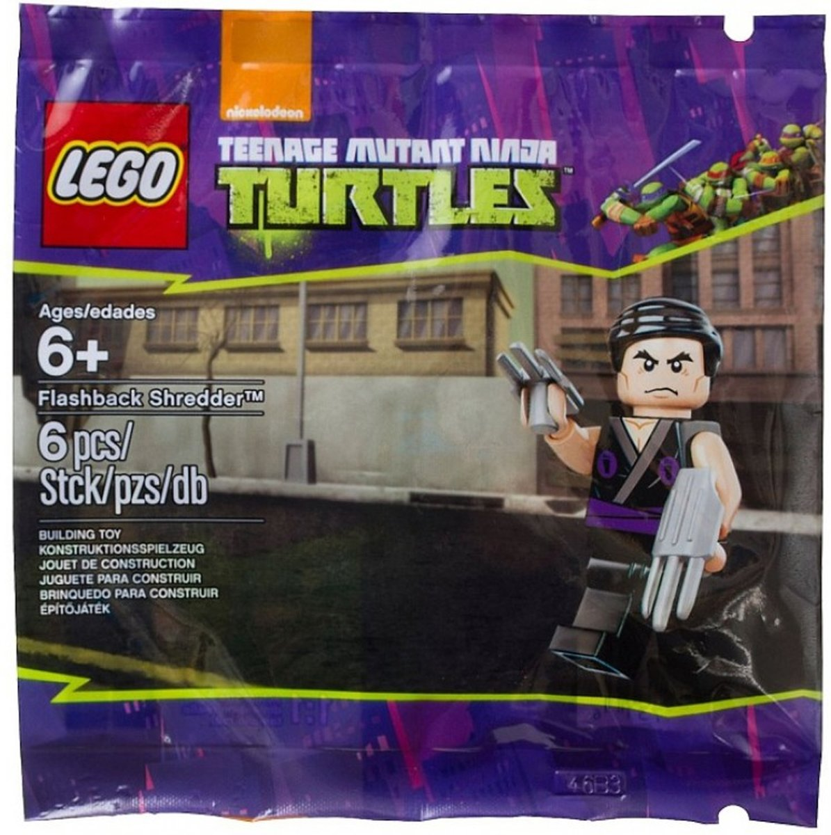 LEGO Ninja Turtles Flasback Shredder