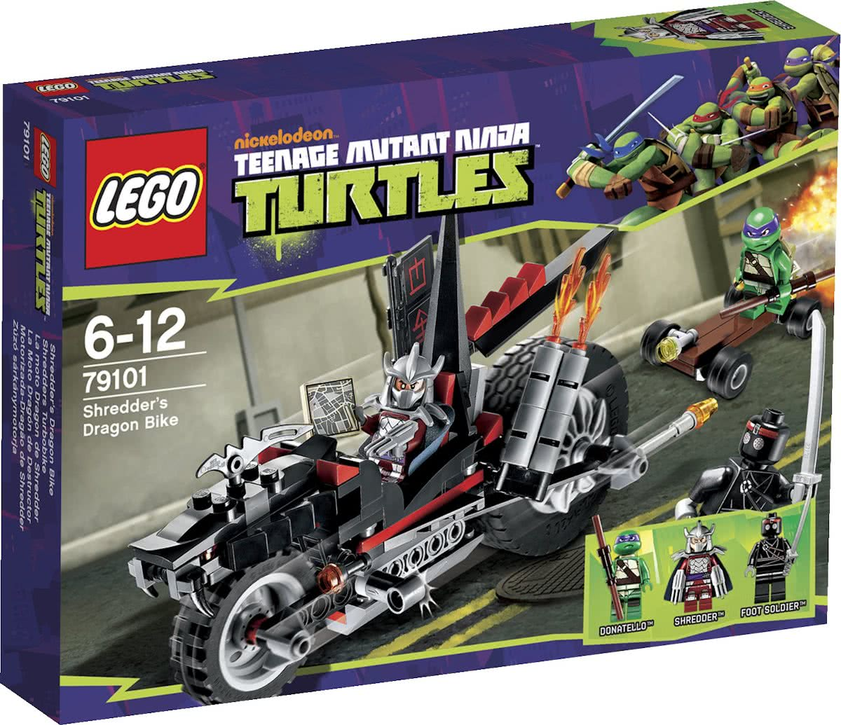 LEGO Ninja Turtles Shredders Drakenmotor - 79101