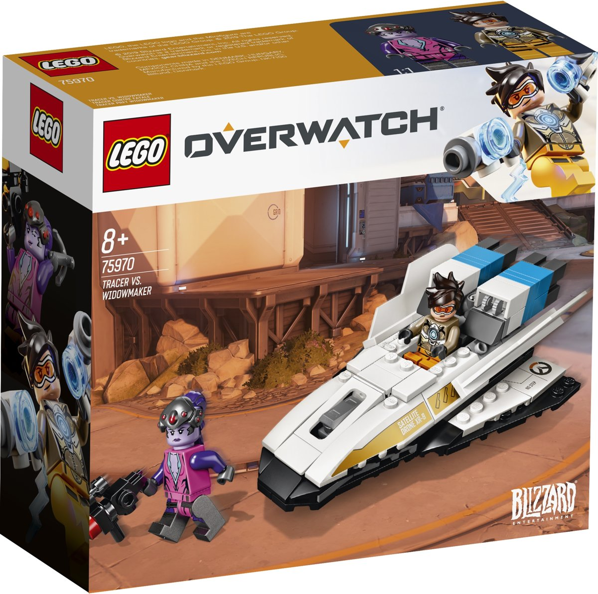 LEGO Overwatch Tracer vs. Widowmaker - 75970