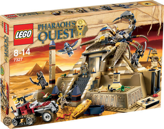 LEGO Pharaohs Quest Schorpioen Piramide - 7327