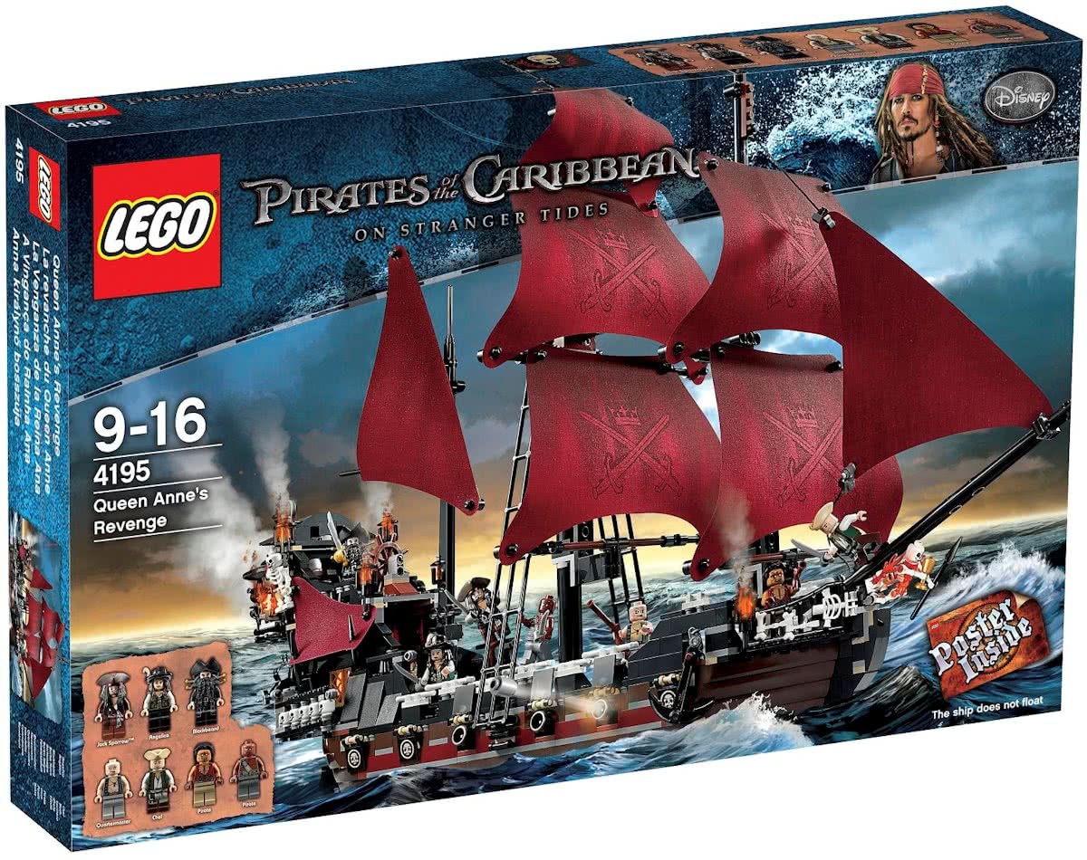 LEGO Pirates of the Caribbean De wraak van Koningin Anne - 4195