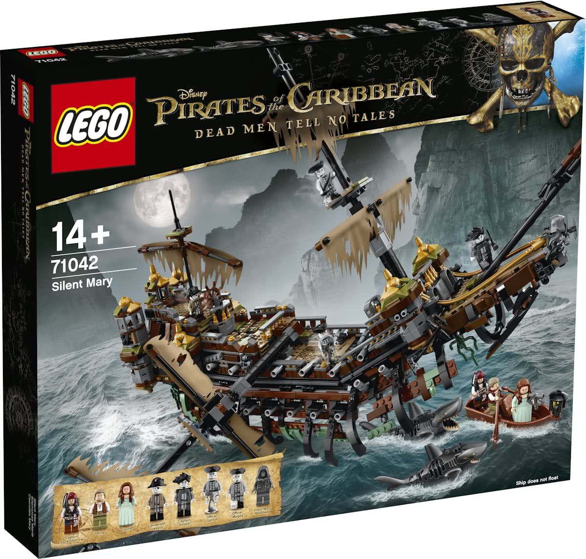 LEGO Pirates of the Caribbean Stille Mary - 71042