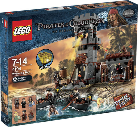 LEGO Pirates of the Caribbean Witkop Baai - 4194