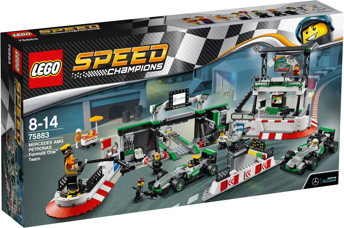 LEGO Speed Champions Mercedes-AMG Petronas Formula One Team - 75883