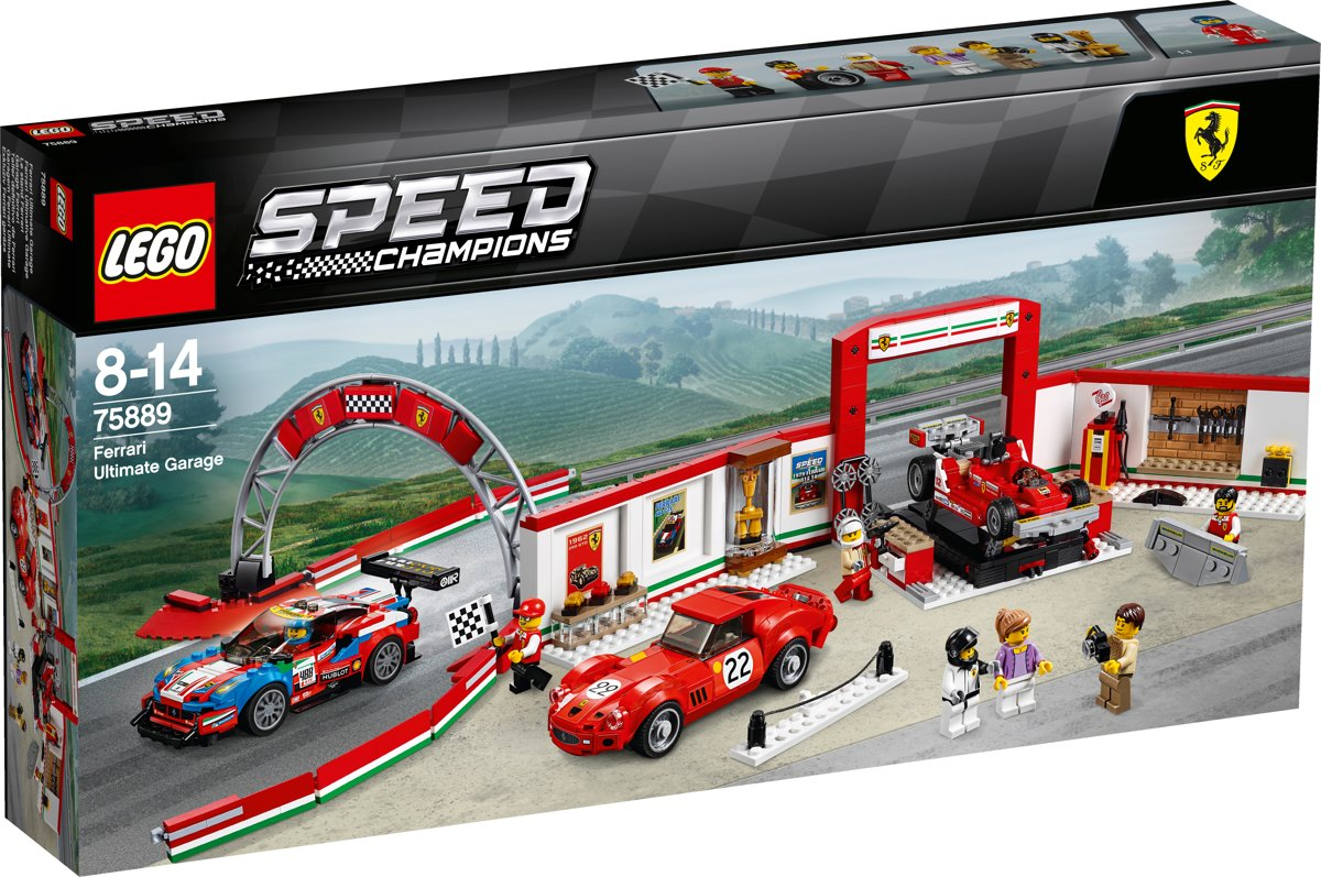 LEGO Speed Champions Ultieme Ferrari Garage - 75889