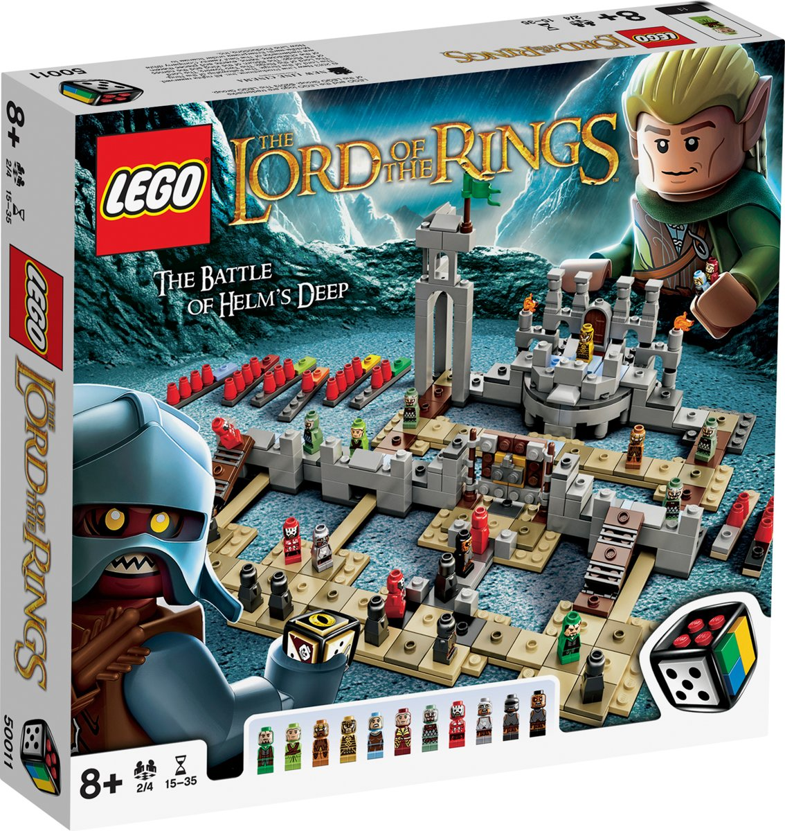 LEGO Spel Lord Of The Rings  Slag Om Helmsdiepte - 50011