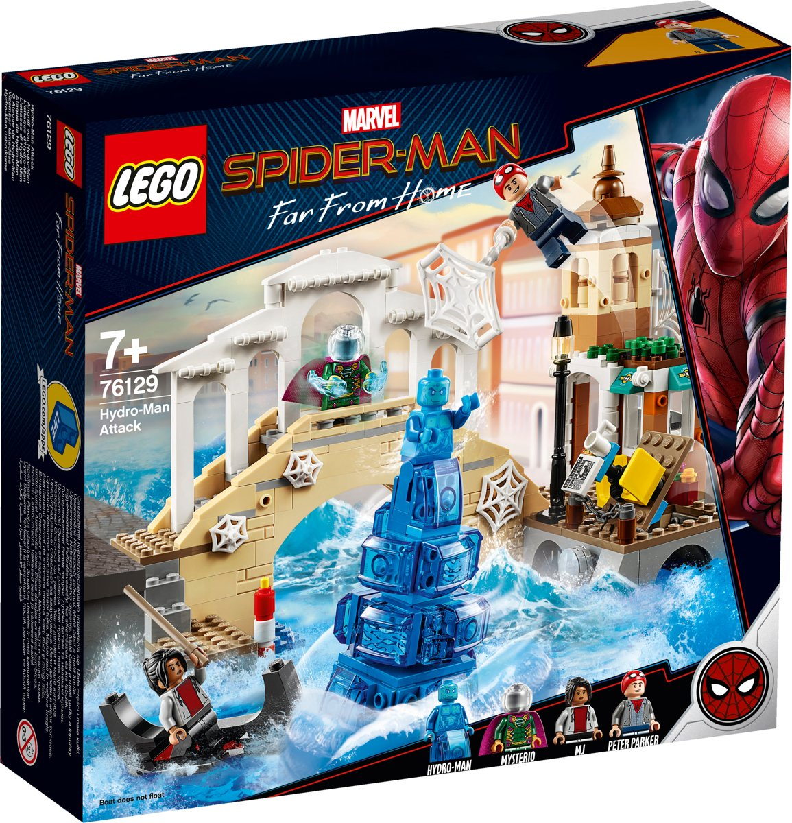 LEGO Spider-Man Hydro-Man Aanval - 76129