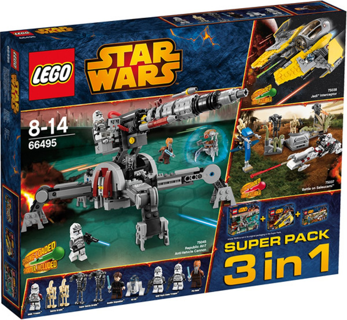 LEGO Star Wars 3 in 1 Superpack - 66495