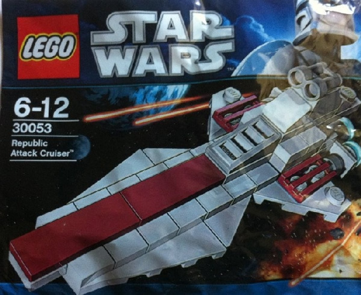 LEGO Star Wars 30053 Republic Attack Cruiser (Polybag)