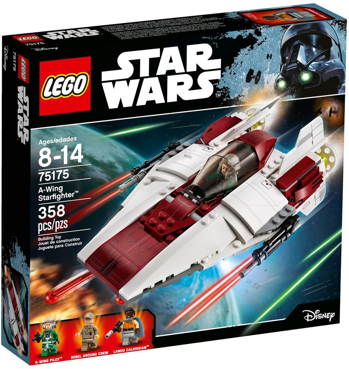 LEGO Star Wars A-Wing Starfighter - 75175