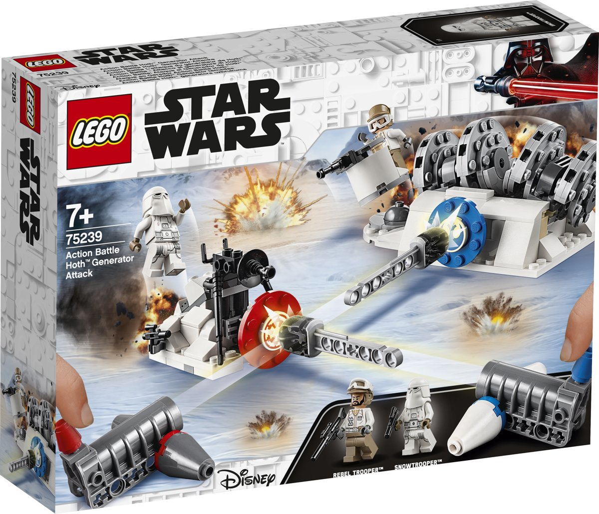LEGO Star Wars Action Battle Aanval op de Hoth Generator - 75239