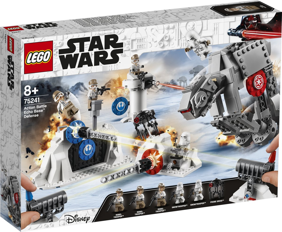 LEGO Star Wars Action Battle Verdediging van Echo Base - 75241