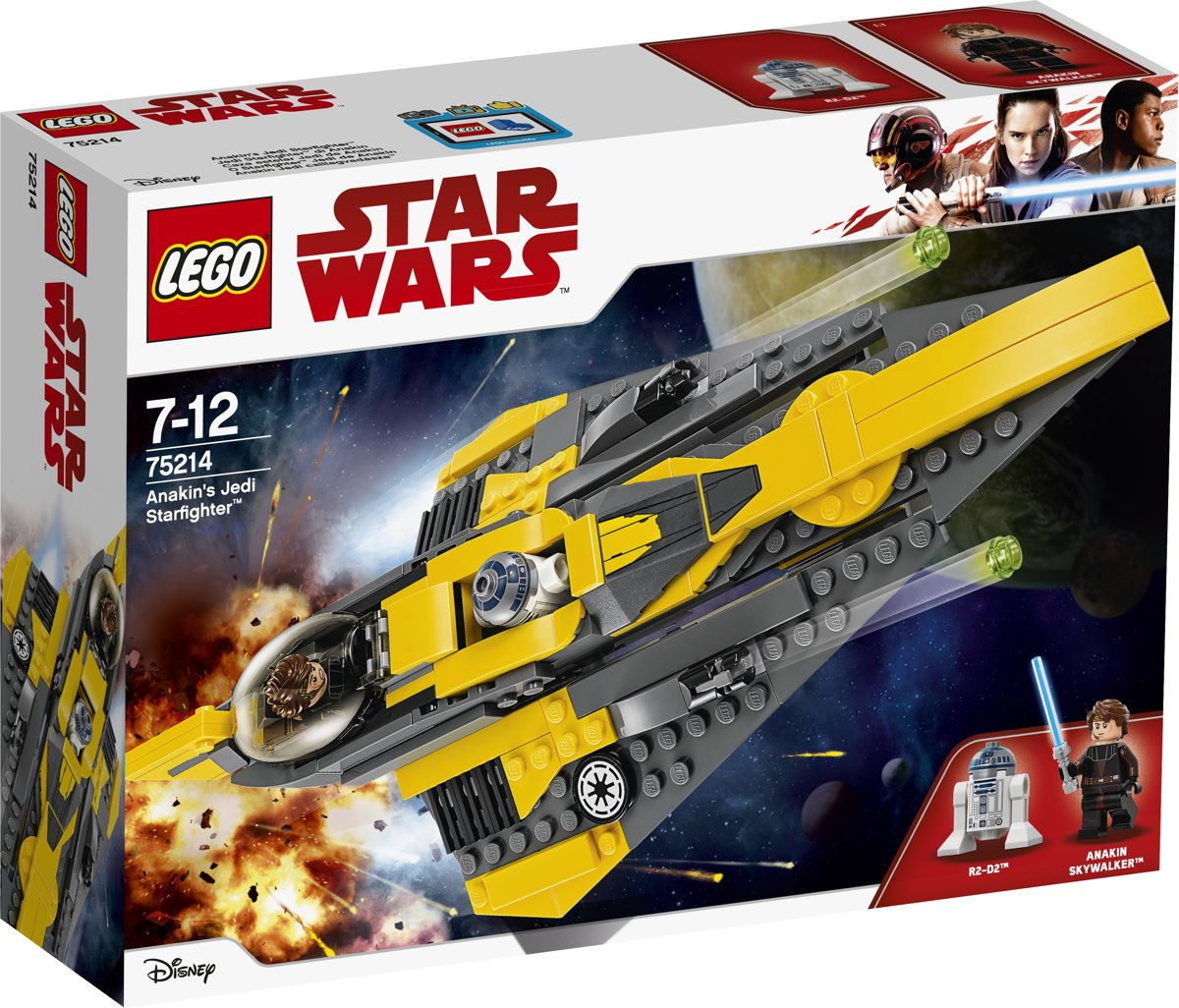 LEGO Star Wars Anakins Jedi Starfighter - 75214