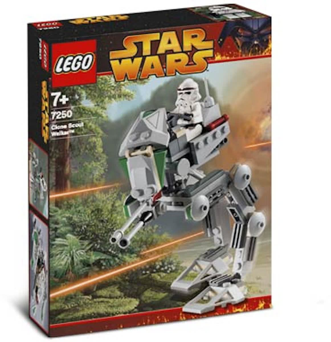 LEGO Star Wars Clone Scout Walker - 7250