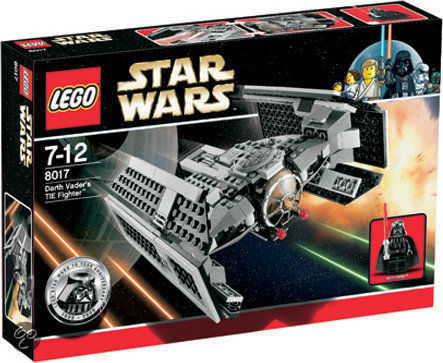 LEGO Star Wars Darth Vaders TIE Fighter - 8017