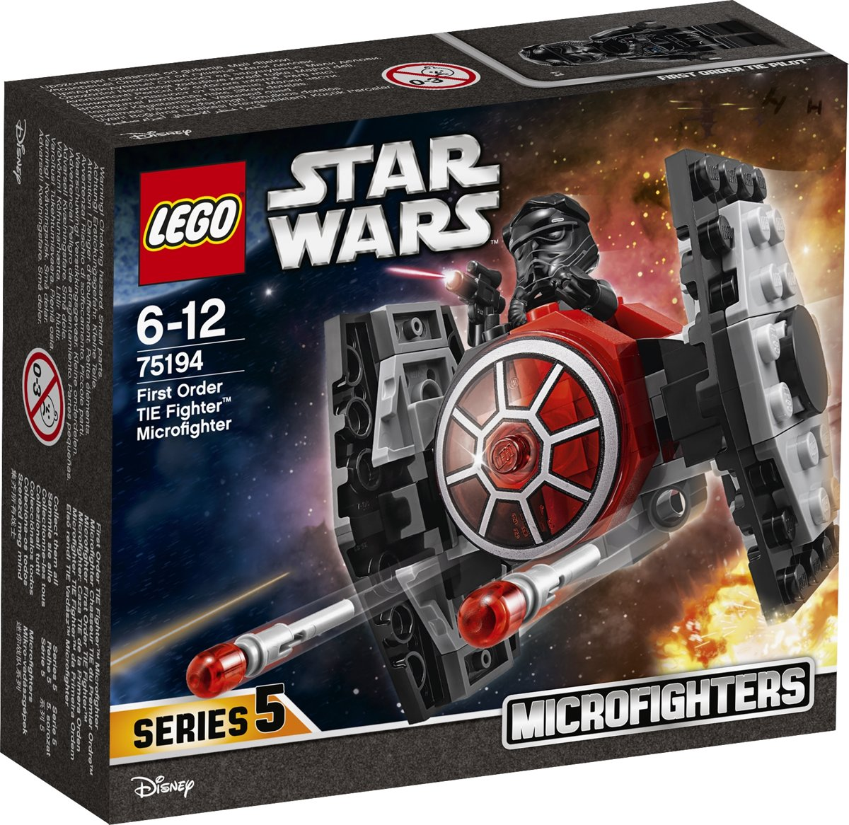 LEGO Star Wars First Order TIE Fighter Microfighter - 75194