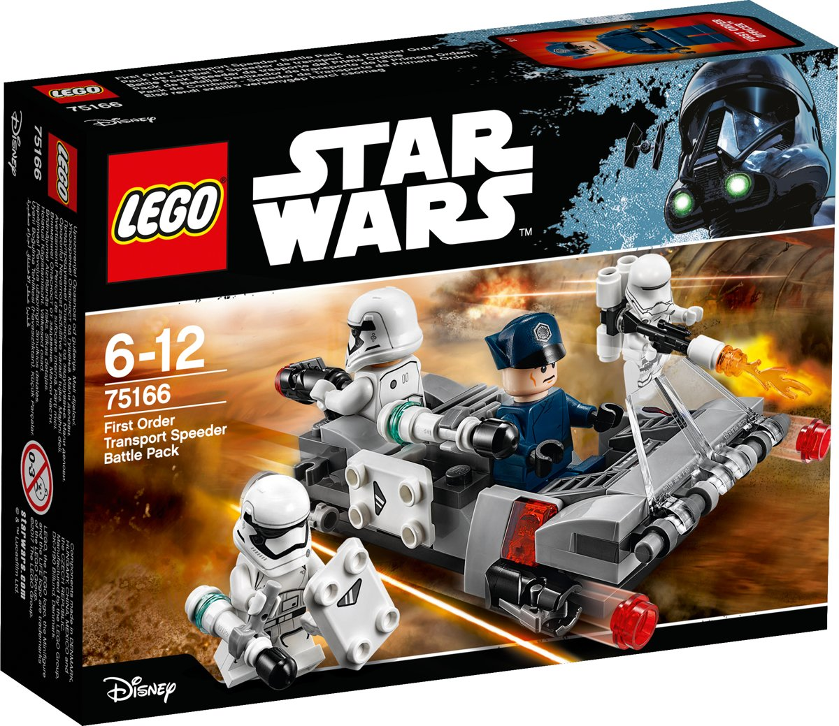LEGO Star Wars First Order Transport Speeder Battle Pack - 75166