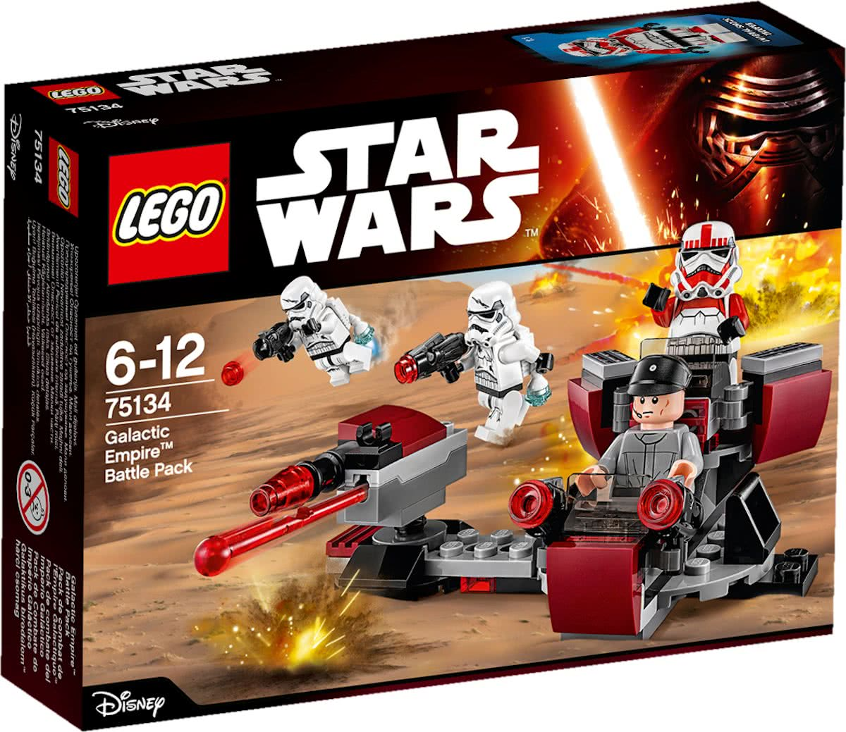 LEGO Star Wars Galactic Empire Battle Pack - 75134