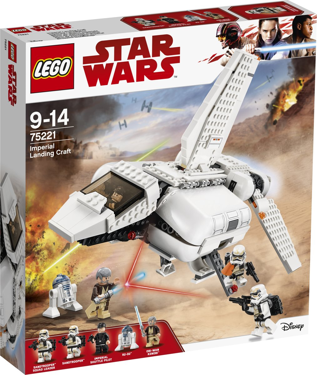 LEGO Star Wars Imperial Landing Craft - 75221