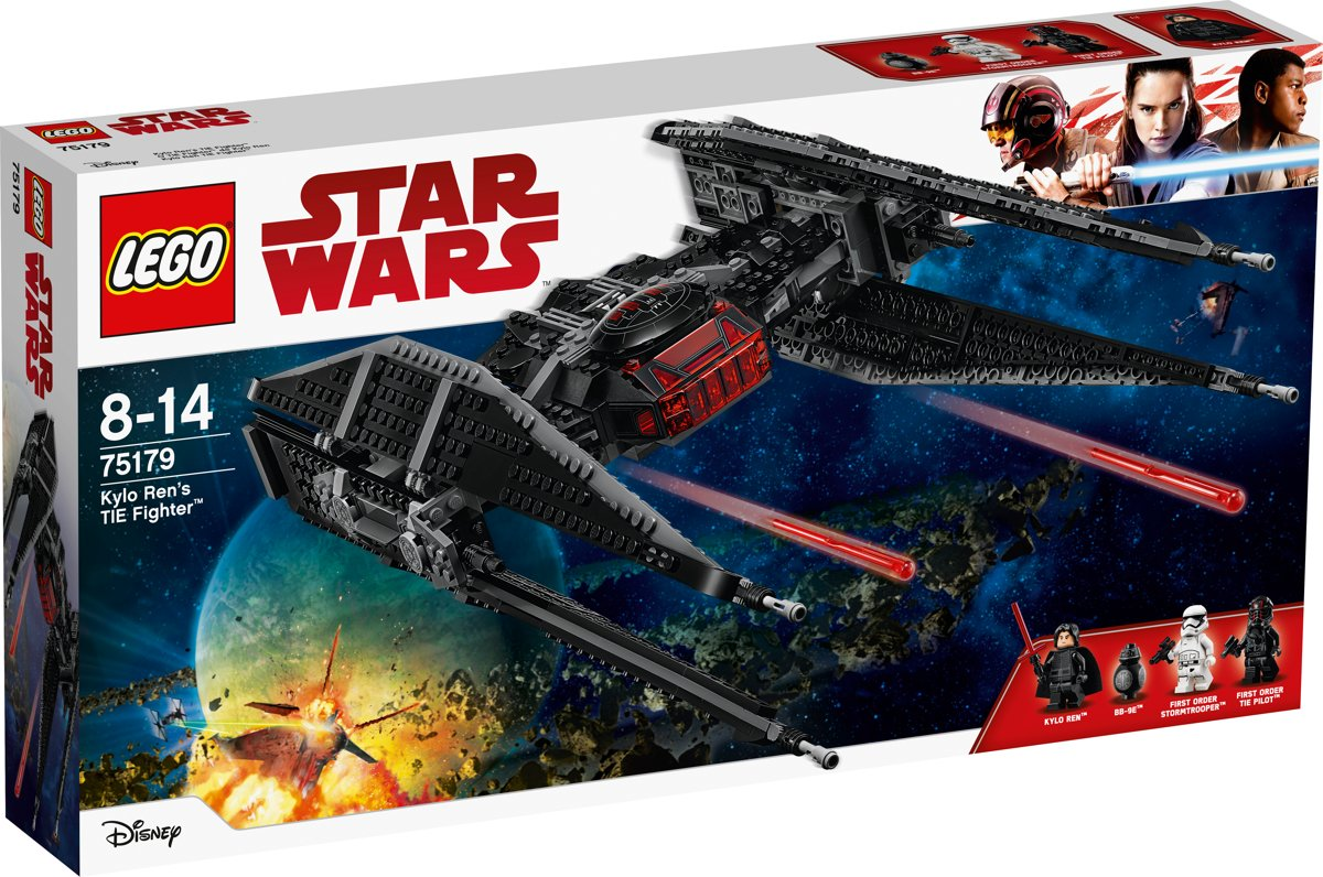 LEGO Star Wars Kylo Rens TIE Fighter - 75179