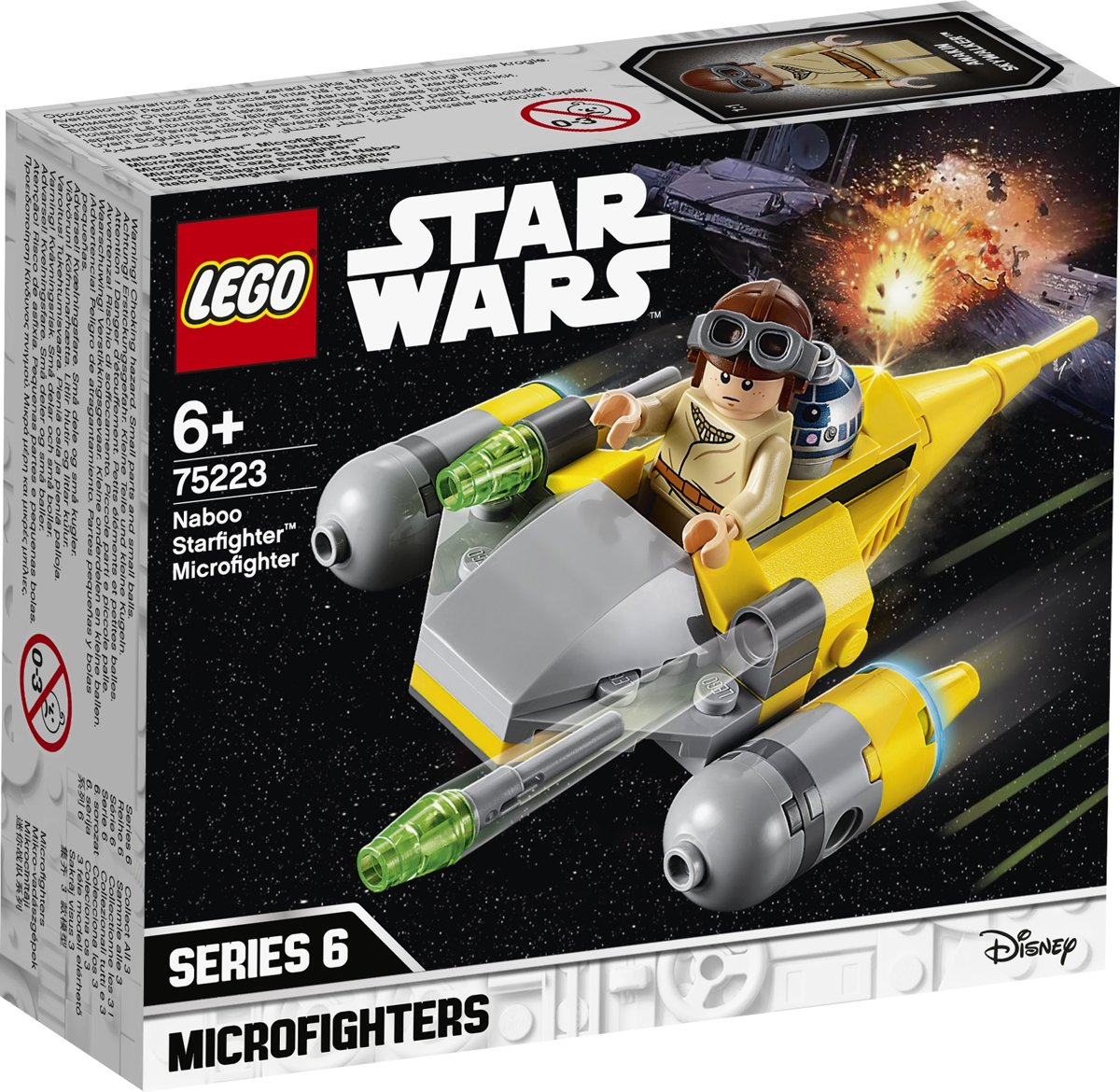 Star Wars Naboo Starfighter Microfighter - 75223