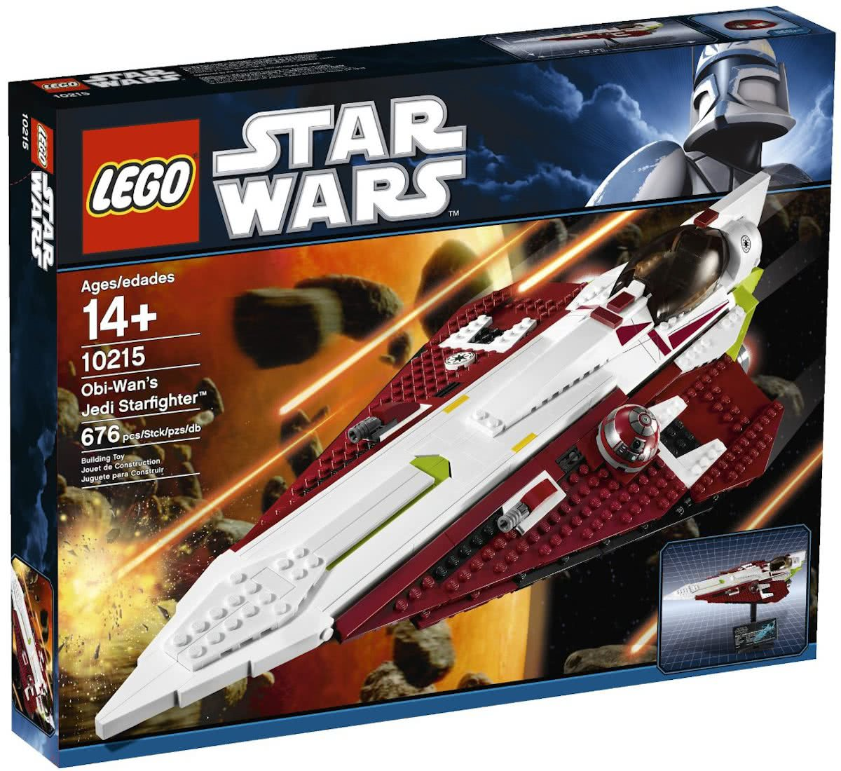 LEGO Star Wars Obi Wans Jedi Starfighter - 10215