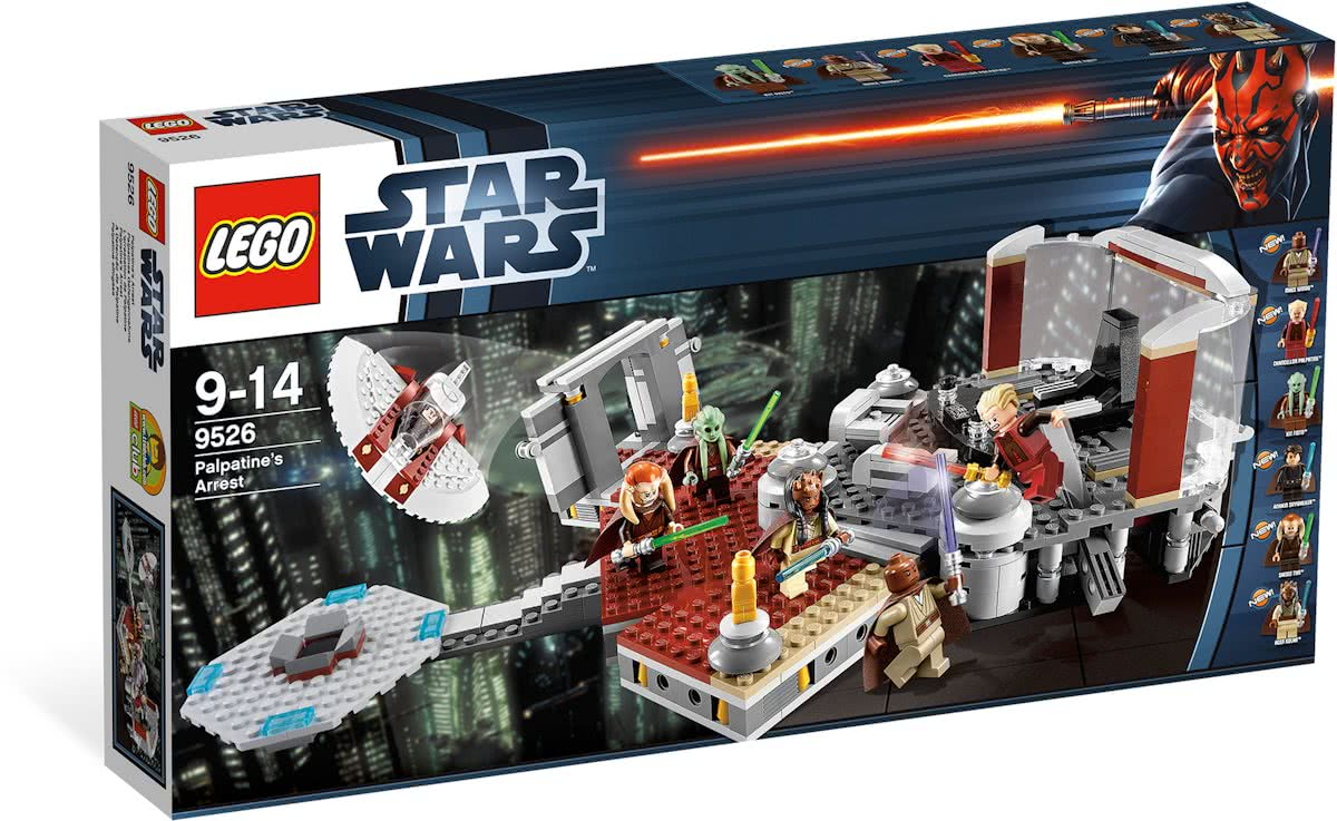 LEGO Star Wars Palpatines Arrest - 9526
