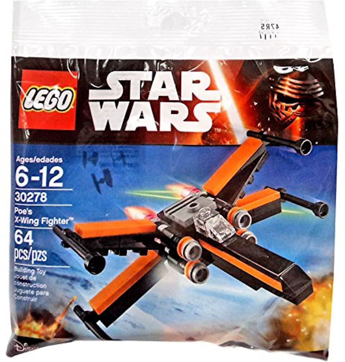 LEGO Star Wars Poes X-Wing Fighter - 30278