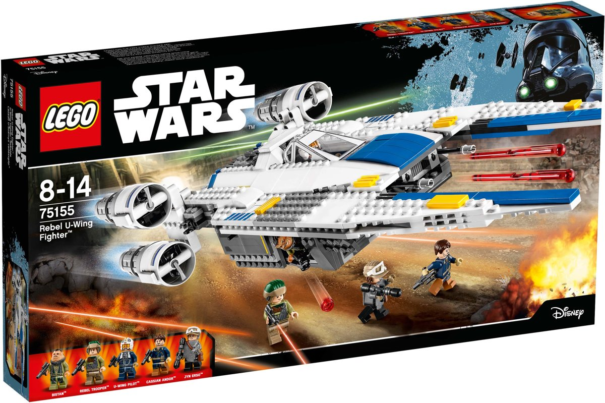 LEGO Star Wars Rebel U-Wing Fighter - 75155
