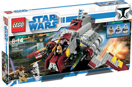 LEGO Star Wars Republic Attack Shuttle - 8019