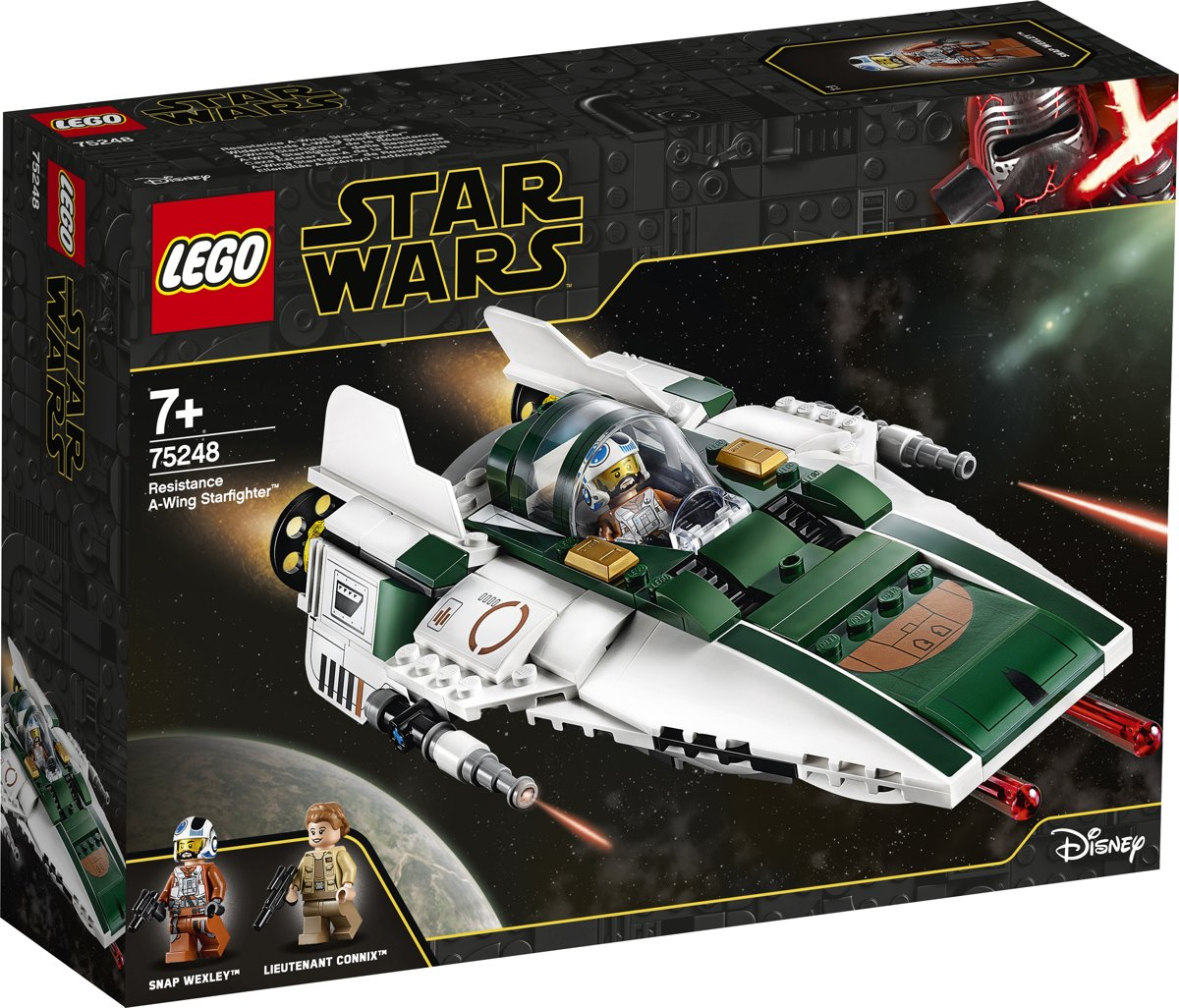 LEGO Star Wars Resistance A-Wing Starfighter - 75248