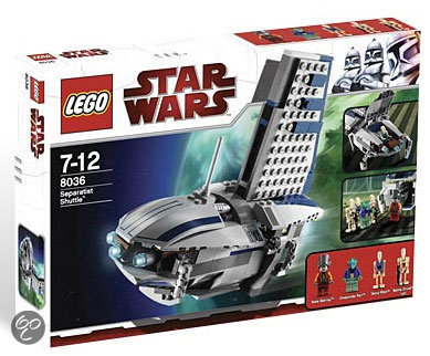 LEGO Star Wars Separatists Shuttle - 8036