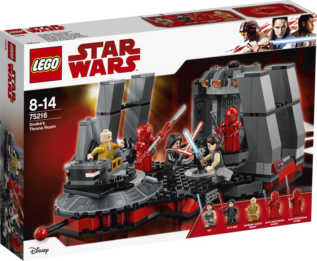 LEGO Star Wars Snokes Troonzaal - 75216