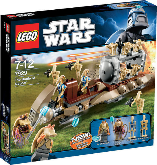 LEGO Star Wars The Battle of Naboo - 7929