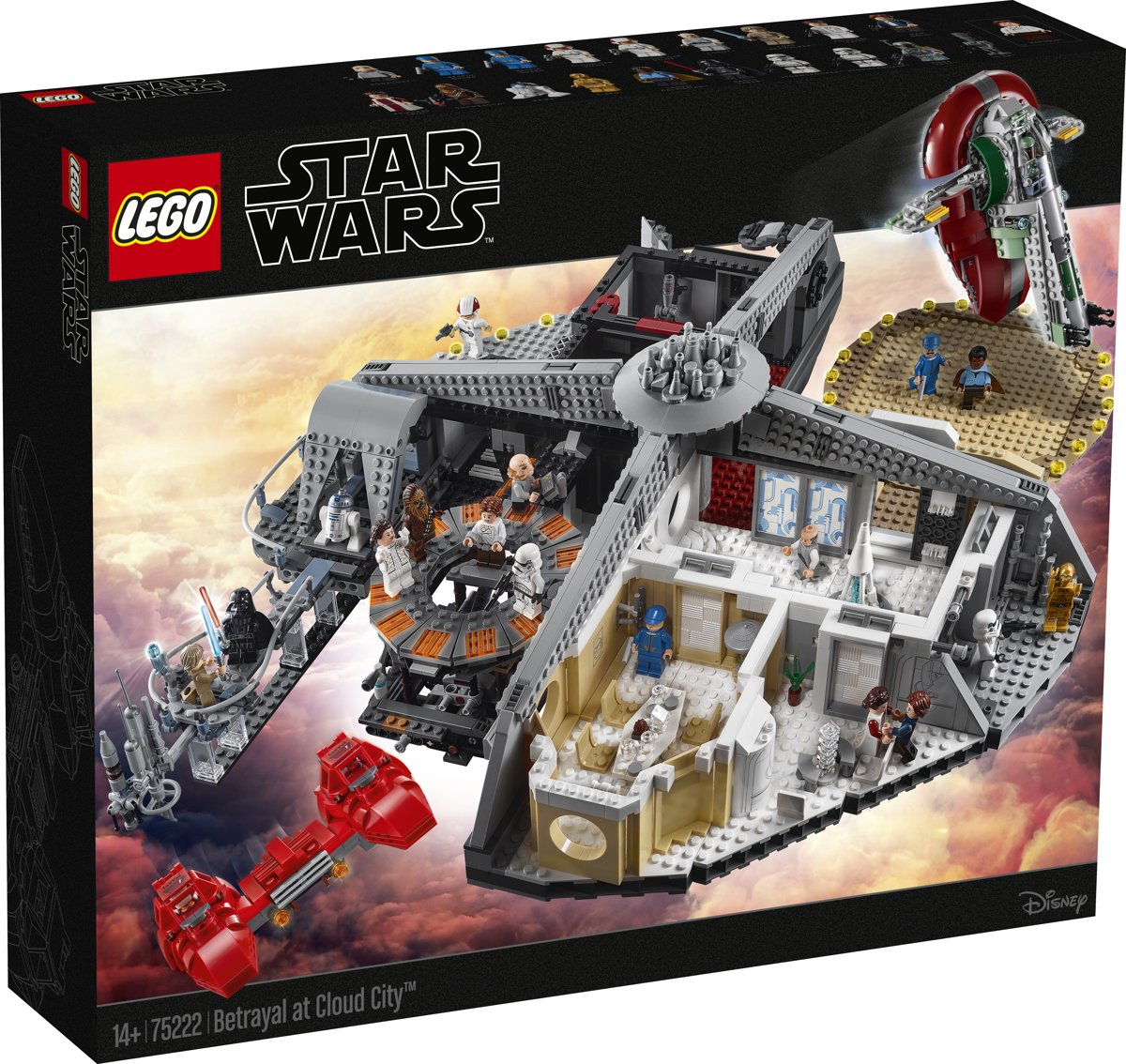 LEGO Star Wars Verraad in Cloud City - 75222