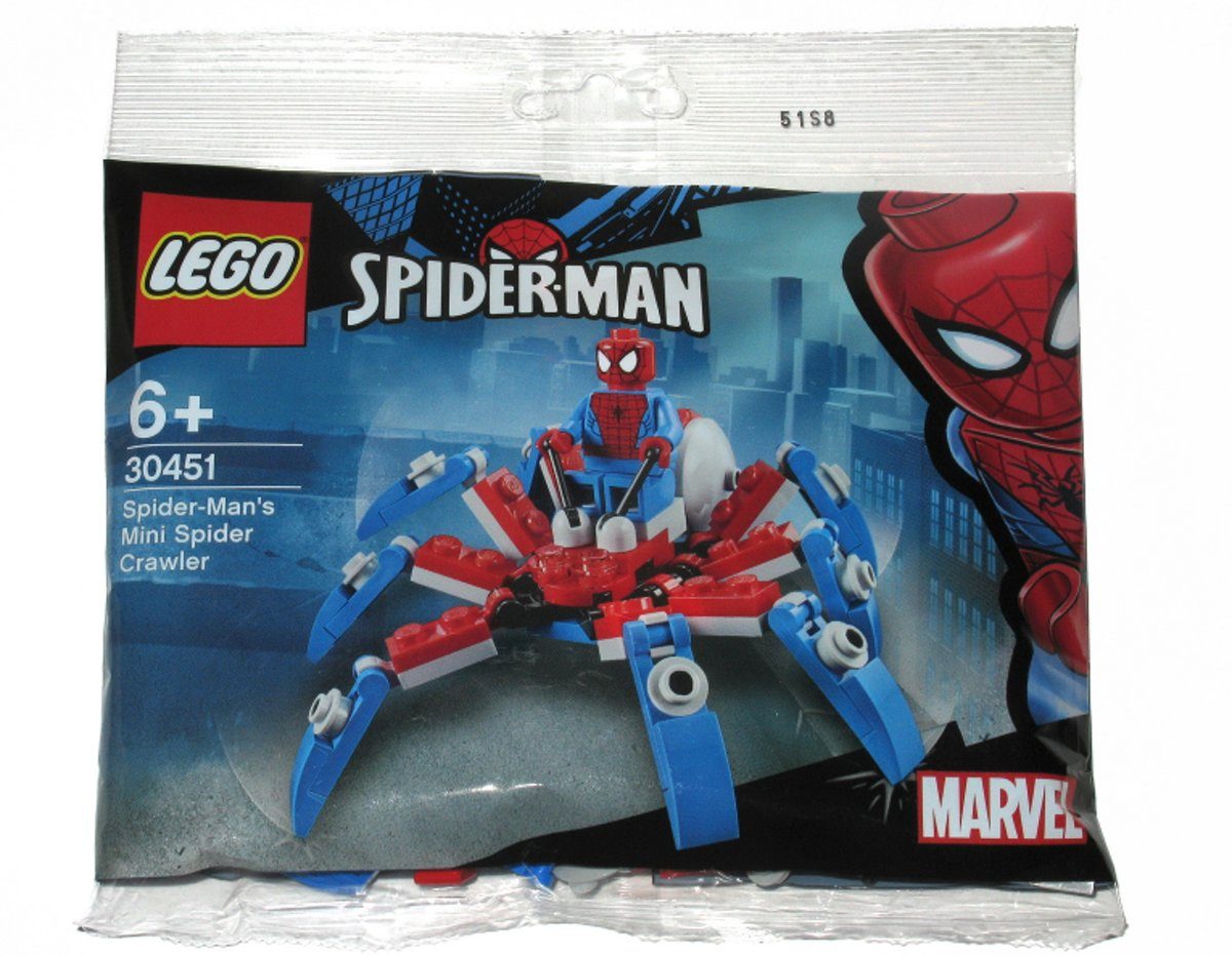 LEGO Super Heroes 30451 Spiderman Mini Spider Crawler (Polybag