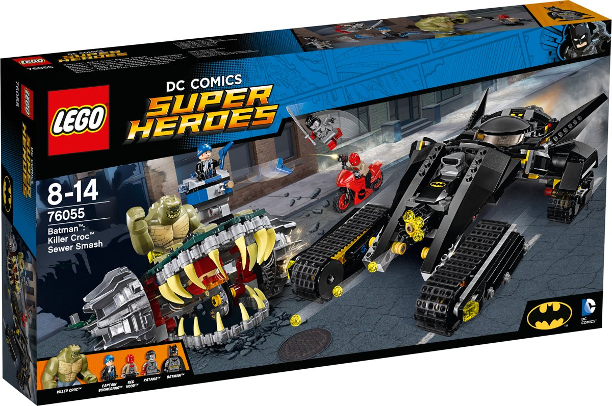 LEGO Super Heroes Batman Killer Croc Rioolravage - 76055