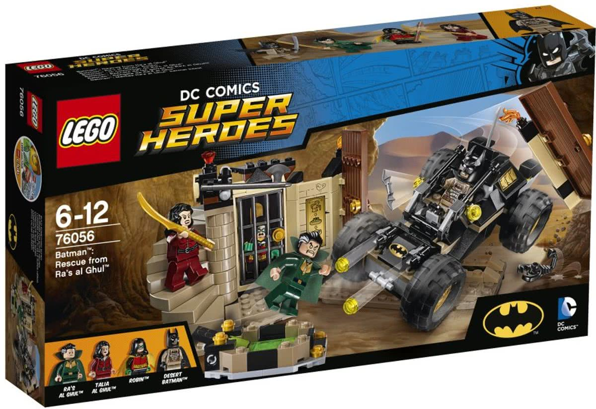 LEGO Super Heroes Batman: Redding Uit Ras al Ghul - 76056