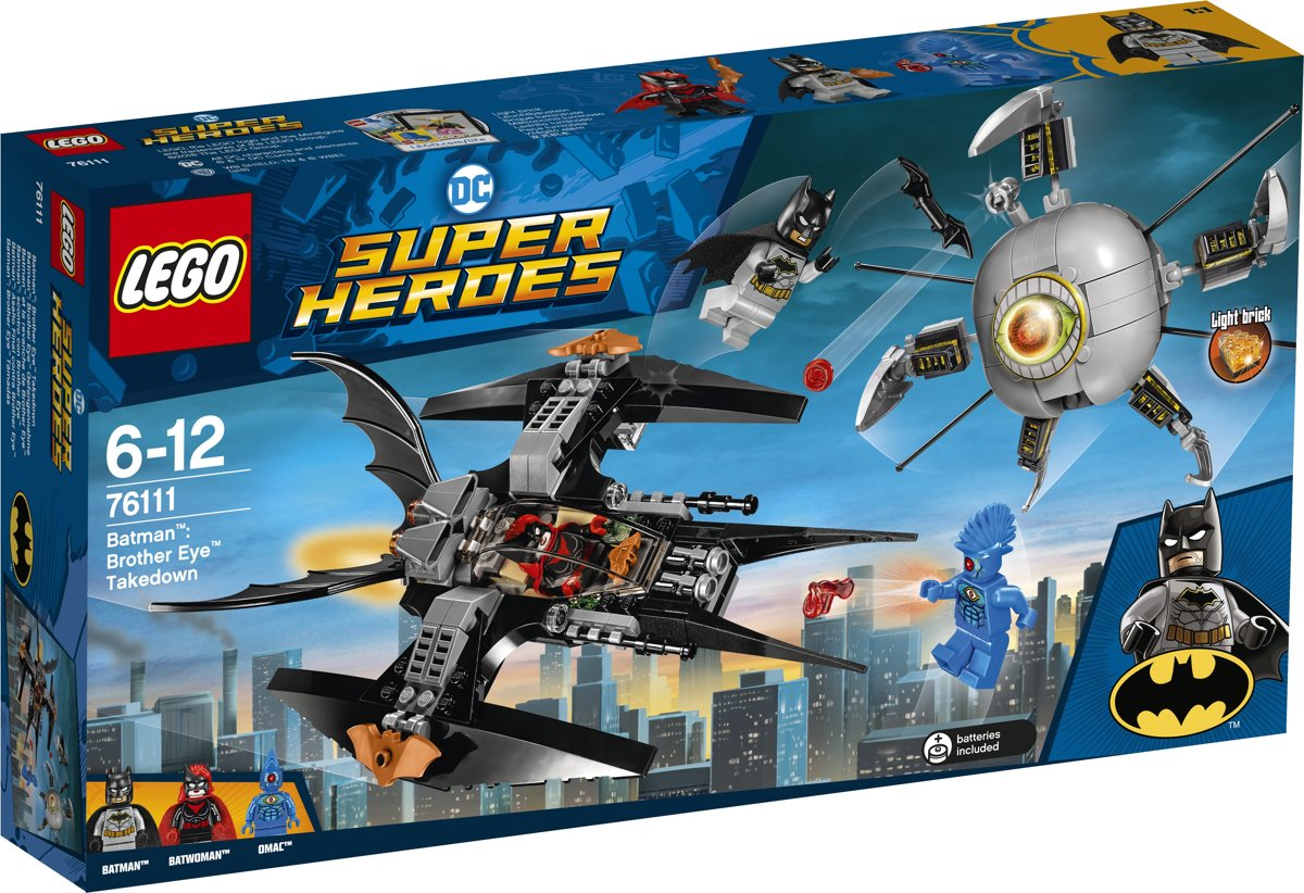 LEGO Super Heroes Batman Verslaat Brother Eye - 76111