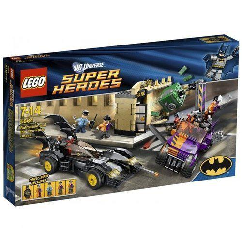 LEGO Super Heroes Batmobiel en de Two-Face Chase - 6864