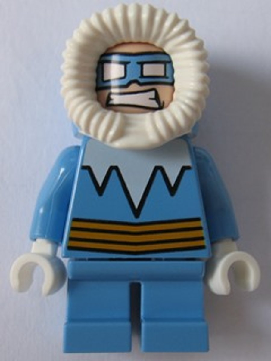 LEGO Super Heroes Captain Cold minifiguur SH247