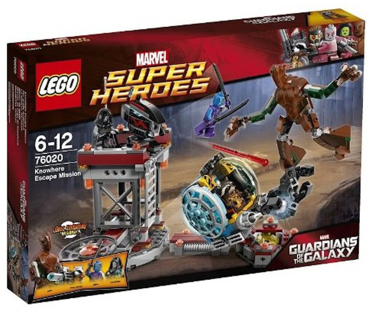 LEGO Super Heroes Knowhere Ontsnappingsmissie - 76020