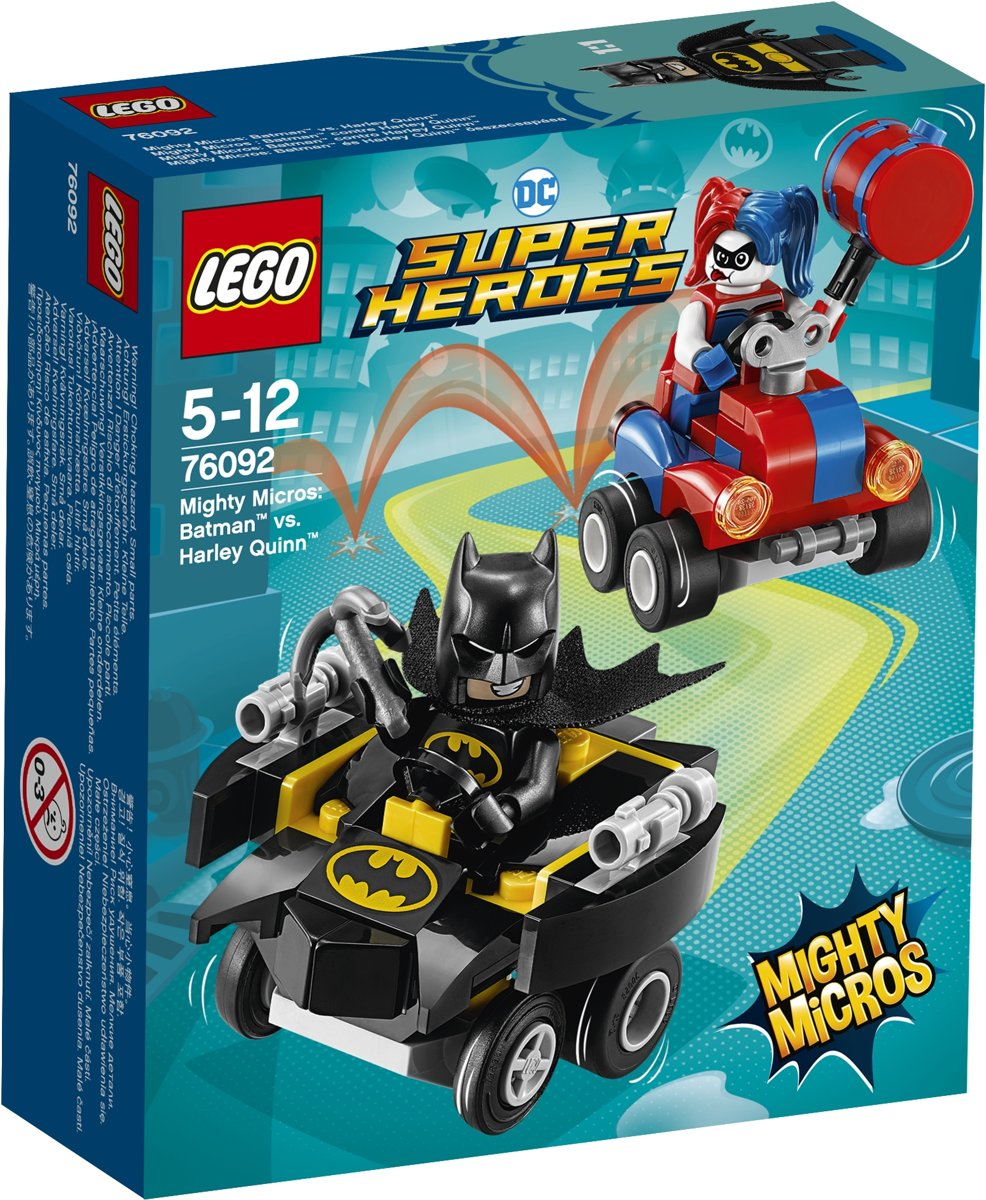 LEGO Super Heroes Mighty Micros: Batman vs. Harley Quinn - 76092