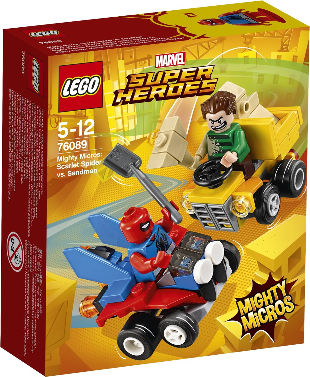 LEGO Super Heroes Mighty Micros: Scarlet Spider vs. Sandman - 76089