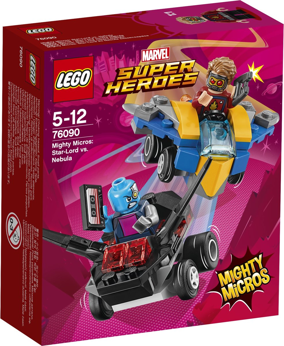 LEGO Super Heroes Mighty Micros: Star-Lord vs. Nebula - 76090
