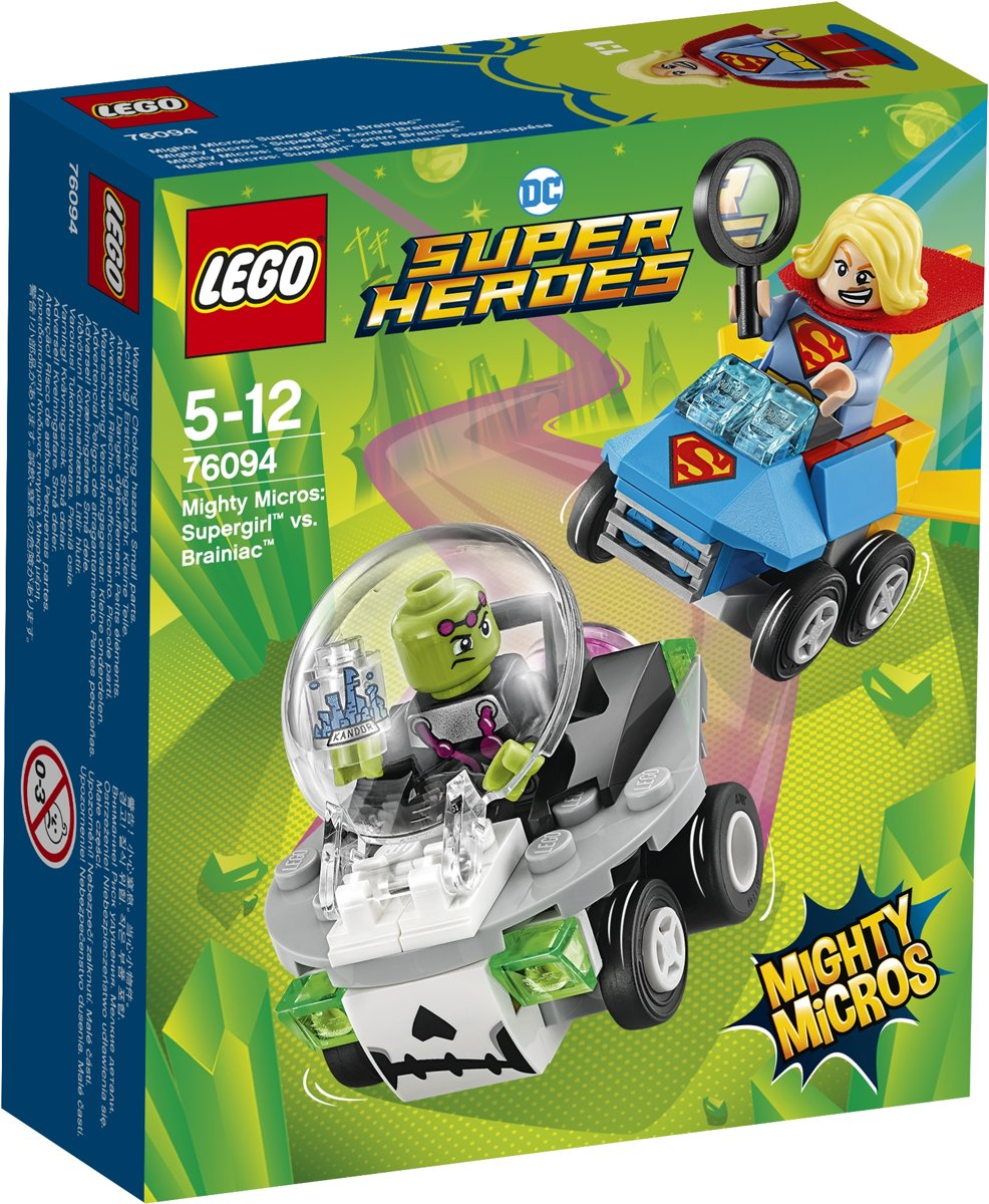 LEGO Super Heroes Mighty Micros: Supergirl vs. Brainiac - 76094